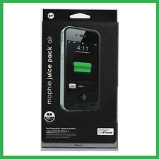 Authenic Mophie Juice Pack Air for Apple iPhone 4 4S Extended Battery Case Black