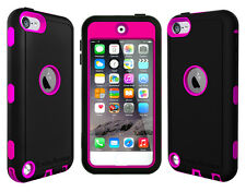 OEM RANGER® DEFENDER BELT CLIP CASE FOR iPOD TOUCH 5TH GENERATION BLACK / PINK