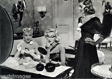 BETTY GRABLE MARILYN MONROE AT DRESSING TABLE - Quality Photo print A4, or A5
