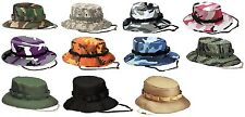 WOMEN & MENS Military Style Boonie Bucket Camping Hunting Jungle Boonie Hats