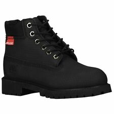 """NEW YOUTH TIMBERLAND 6"""" WP PREMIUM HELCOR SCUFF PROOF BOOTS  [6597R]  BLACK"""