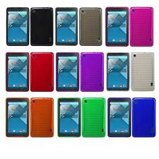 Hard Silicone Gel TPU Cover Case Skin Alcatel One Touch Pop 7 Tablet NEW