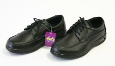 Men's Black Restaurant Work Shoes Slip & Oil Resistant 12004- 6.5 7 7.5 8 8.5 9