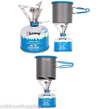 Olicamp Vector Stove - Designed For Easy Operation With Fold Away Pot