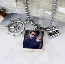 "Once Upon A Time ""Captain Hook"" Necklace with Treasure Chest"