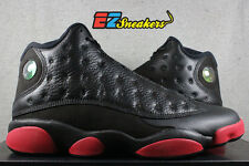 AIR JORDAN 13 XIII RETRO BLACK GYM RED 414571-003 NEW DIRTY BRED SIZE: 10.5 11