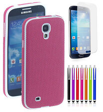 New Hybrid Case Skin Design TPU Design Hard Rubber Cover For Samsung Galaxy S4