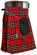 Royal Stewart Kilt Scottish Mens Tartan Highland Dress