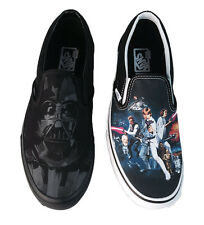 Vans Star Wars Darth Vader Classic Slip on Skating Shoes