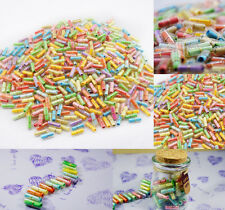 Message in a Bottle Message Capsule Letter #O Cute Love Pill full clear color