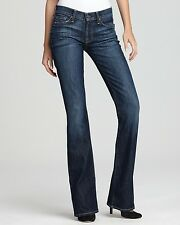 7 FOR ALL MANKIND Petite Short Bootcut Jeans - Nouveau New York Dark $178