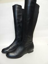 Alfani Cabbie Stretch Back Knee High Boot 7 M Black  New without Box