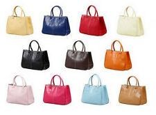 Women's Lady Tote Shoulder Handbag Purse Bag Synthetic Leather