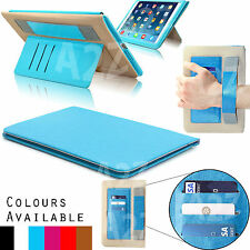 Genuine Smart Slim Protective Leather Stand Wallet Case Cover For iPad Air Air 2