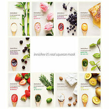 Innisfree It's Real Squeeze Mask Sheet 3PCS SET Korea Cosmetics Skin Care