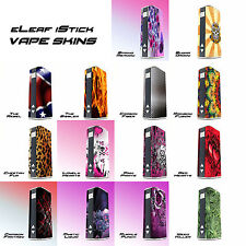 eLeaf iStick  Glossy patterned/Pictoral Skins - Vinyl Vapor Cover Ecig