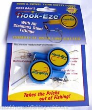The Original Hook Eze, Hook Tying Safety Device Twin Pack by Ross Bain hookeze