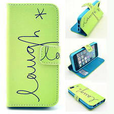 New Split Card Slots PU Leather Cover Phone Case For Samsung Note 3 iPhone 6PLUS