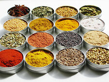 Indian Spice Spices Refill Pack | 30 spices in a box | 25g / 50g / 100g each