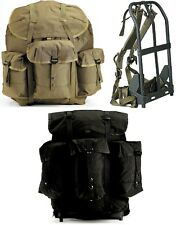 LARGE Enhanced Deluxe Alice Pack & Frame Military Style Nylon Backpack 40045