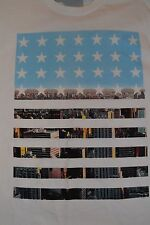 Tony Hawk USA NYC American Flag Adult Graphic Tee T-Shirt XXL New With Tags
