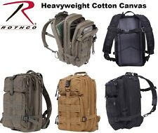 Military Style Cotton Canvas Tactical Level 3 Medium Transport Assault Pack Back