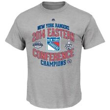 NHL New York Rangers Eastern Conference Champions Locker Room Shirt Majestic