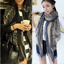 2015 women lady voile totem deerlet Scarf Shawl Wrap Stole Soft Scarves W027
