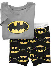 Kids Boys T-shirts Batman Shorts Sets Jumper Prousers Pants Age 2 3 4 5 6 7 Year