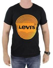 NEW NWT LEVI'S MEN'S CLASSIC COTTON SHORT SLEEVE GRAPHIC T-SHIRT BLACK