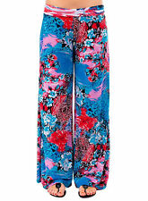 Palazzo pants women print Floral wide leg Pant yoga casual party