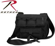 BLACK Heavy Duty Venturer Survivor Pack Shoulder Bag School Bag Or Purse 2396