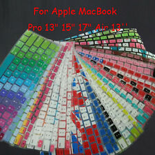 US Soft Silicone Keyboard Cover Skin Film For Apple MacBook Pro 13 15 17 Air 13""