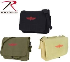 Military Style Israeli Paratrooper Shoulder Bag School Bag Or Purse #2 8127