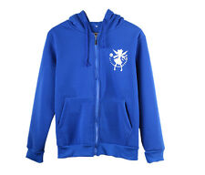 New Touhou Project Cosplay Cirno Winter Thicken Blue daily sportswear Hoodie