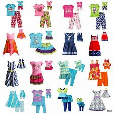 Dollie & Me Girl 5-14 and Doll Matching Summer Pajama Outfit fit American Girls