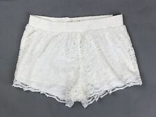 New Hollister by Abercrombie Women Drapey Floral Lace Short-Shorts Fit All Size