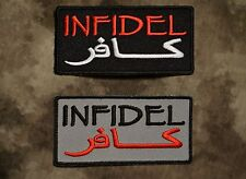 INFIDEL with Arabic Patch