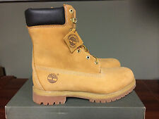 "TIMBERLAND 8"" 8 INCH PREMIUM BOOT WHEAT CONSTRUCTION 12281"