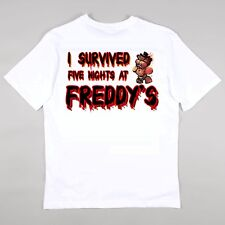 FIVE NIGHTS AT FREDDYS T-shirt Girls Boys Gaming Age 5 - 14 years Style 2