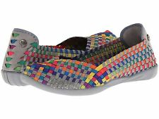 Women's Shoes Bernie Mev. Catwalk Casual Slip On Flats Multi *New*