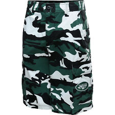 North Bay Men's New York Jets Camo Woven Cotton Shorts