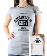FIFTY SHADES Of GREY: Property Of Christian Grey T-shirt  Up to 2XL FREE UK POST