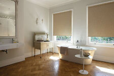 ROLLER BLINDS MADE 2 MEASURE / HIGH QUALITY TORRO EASY WIPE FABRIC 5 COLOURS*