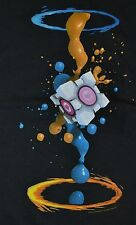 Mojang Minecraft Portal 2 Splatter Adult T-Shirt Officially Licensed Jinx Tee