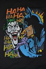 THE JOKER & BATMAN In Your Face Graphic T-Shirt Officially Licensed DC Comics