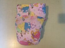 Fully functional Adult Baby All in One Diaper with Extra Padding In Center!