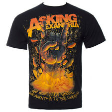 Official Asking Alexandria Unisex Black Metal Hands T Shirt ALL SIZES