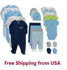 Garanimals Newborn Baby Boy Clothes Perfect Shower Gift 21 Piece Set  0-6M