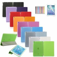 Slim Magnetic PU Leather Stand Smart Cover Folio  Back Case Fits Apple iPad Mini